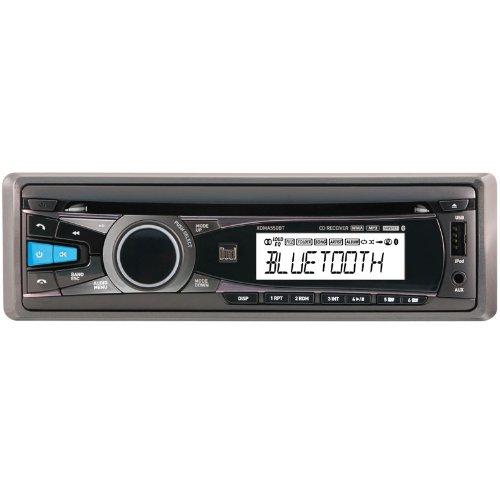 New Dual XDMA550BT CD/MP3 Single DIN LCD Bluetooth Car Audio Receiver Player