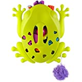 Boon Frog Pod Bath Toy Scoop, Green