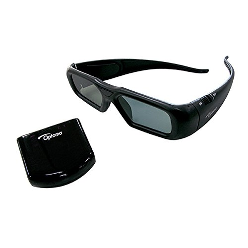 Optoma 3Dアクティブグラス ブラック ZF2300 B00Z5O6MQC
