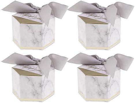 Caja de caramelos de papel, caja de regalo de agradecimiento ...