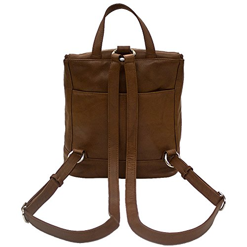 with RFID Antique Handbag 6502 Leather Backpack Lining ili Saddle qwZSOzIn
