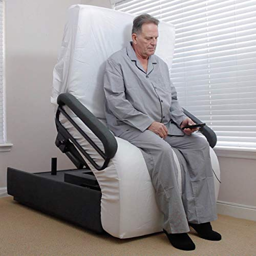 Sleeper Chair Lift - Envyy Sit-to-Stand Bed.The Ultimate Adjustable Bed. Push-Button Operation for Super-Safe, Strain-Free, Pain-Free Bed Entry/EXIT. More Comfortable Than Any Lift Chair, get a Real, Good Nights Sleep