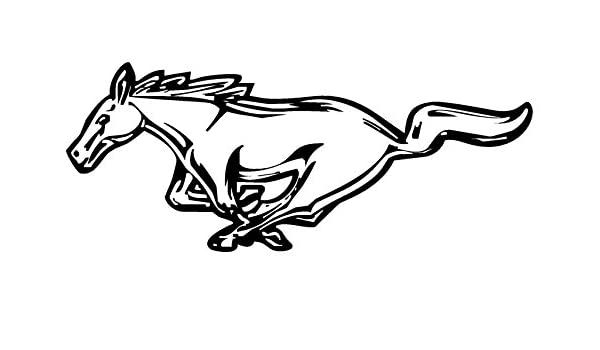 Mustang Logo Right /& Left Decals 4 Each