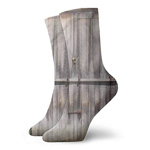 Hot sale Socks Rustic,Wooden Oak Country Gate,socks for toddler boys with grip