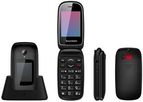 CELT22 - Teléfono móvil Senior con Tapa Tipo Concha, Doble ...