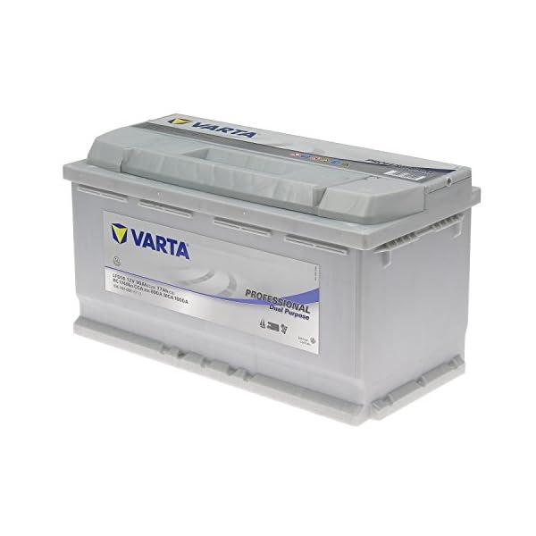 Varta LFD90 Professional Boot Wohnmobil Solar Versorgungsbatterie 90AH 12V