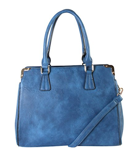 rimen-co-pu-leather-multi-spaced-tote-womens-purse-handbag-accented-with-removable-strap-u6-3507