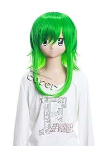 CosplayerWorld Vocaloid Gumi Wig 50cm 20inch CosplayWig Manga Anime Wig Party Wigs GH93A