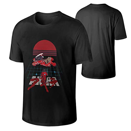 Man Akira T-Shirt Cotton Games Short Sleeves Tee L Gift Black ()