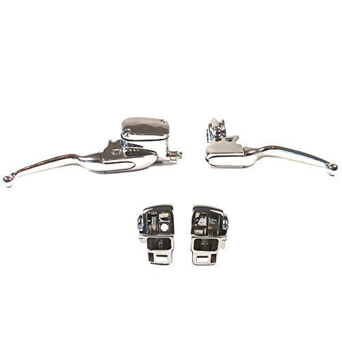 Hill Country Customs Chrome Handlebar Control kit for 1996-2007 Harley-Davidson Ultra Classic and Road King with Cruise Control - HC-HCB122-1001