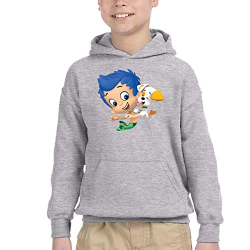 Bubble Guppies Youth Children Hoodie Jacket Sweatshirt For Girls And Boys 4T ()
