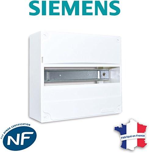 Tableautin /électrique 1 rang/ée 9 modules SIEMENS