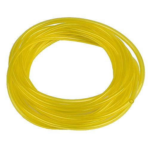 - 2 Roots-1 Meter Fuel Tank Parts Yellow Fuel Pipe Tube Fuel Line 5mm3mm