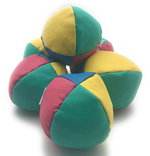 Classic Juggling Balls Pack of 6 by Oojami Classic Juggling Balls