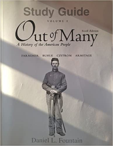 Amazon. Com: study guide for out of many (combined volume and.