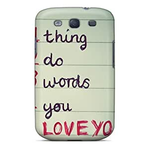 Bernardrmop Galaxy S3 Hard Case With Fashion Design/ TkjStUN8037jwkHy Phone Case
