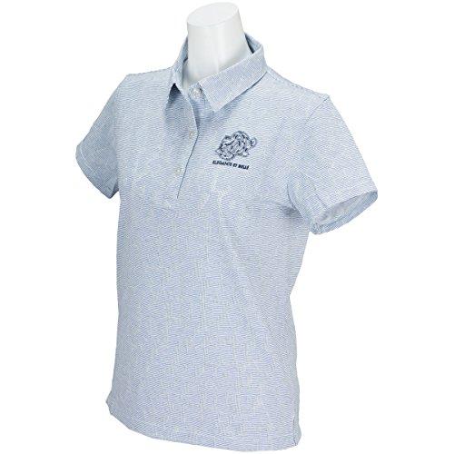 ZOY ゾーイ 半袖シャツ?ポロシャツ 半袖ポロシャツ レディス ネイビー S