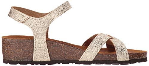 Flat Champagne Illian Step Women's Sandal Spring q6ROtSx