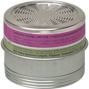 GME P100 Respirator Cartridges (6 per box) by MSA