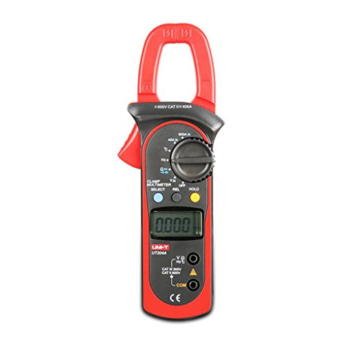 Zerama UNI-T UT204A AC 400A-600A Digital Clamp Multimeter AC/DC Voltage Detector AC Current Resistance/Ohm Meter Tester