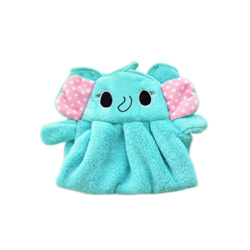 Eco-Friendly Candy Colors Soft Coral Velvet Cartoon Animal Towel Can Be Hung Kitchen Used 2 by MJbeaful