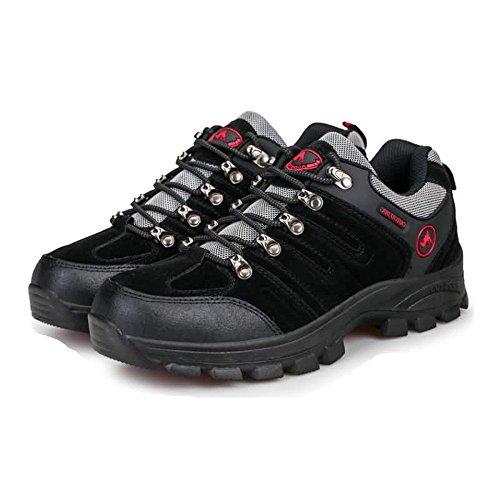 Forma Memoria con Zapatos Cordones Zapatos en de Deportivos Espuma atléticos Negro para Exteriores con Hombres Afterburn para RwUROqSP