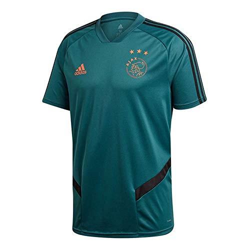 adidas 2019-2020 Ajax Training Football Soccer T-Shirt Jersey (Tech Green) - Kids