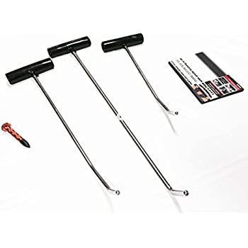 SAI 3ps PDR Paintless Dent Repair Tools, Pack of 3 (+ DVD)