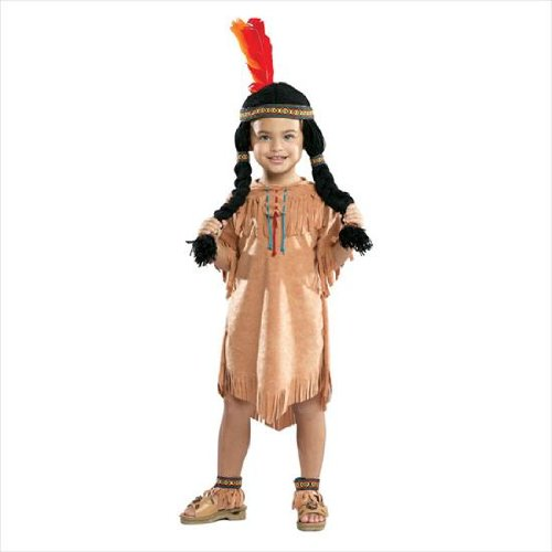 Thanksgiving Themed Party Costumes (Rubie's Costume Co Indian Girl Costume, Small)
