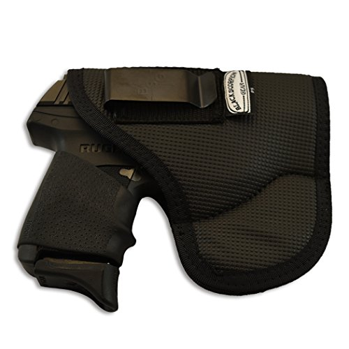 Black Scorpion Outdoor Gear, Punisher P5 Fusion IWB and Pocket Holster Ambidextrous, Concealment - Nylon synthetic - Fit for Glock 42,43 / Ruger LC9S/ Sig P365 all Similar size Gun by Black Scorpion Outdoor Gear (Image #2)