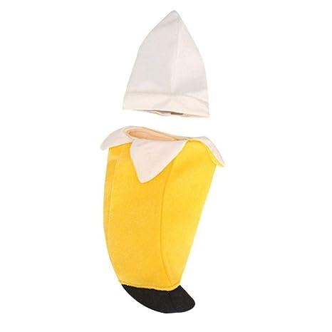 CCYK Pet Party Cosplay Disfraz de plátano Túnica Tema ...