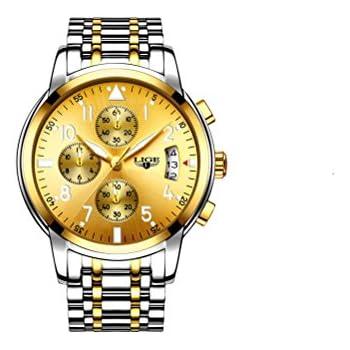 Relojes de Hombre Cronógrafo De Cuarzo De Moda Para Caballeros RE0113