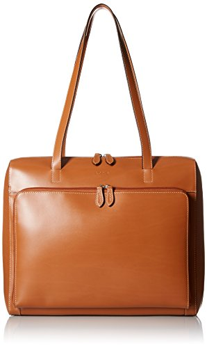 lodis-audrey-zip-top-tote-with-organization-toffee-one-size