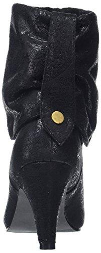 Mujer Boots Individual Negro Plisadas Black A Botas 3 Joe para 1 Browns In BqXxzf