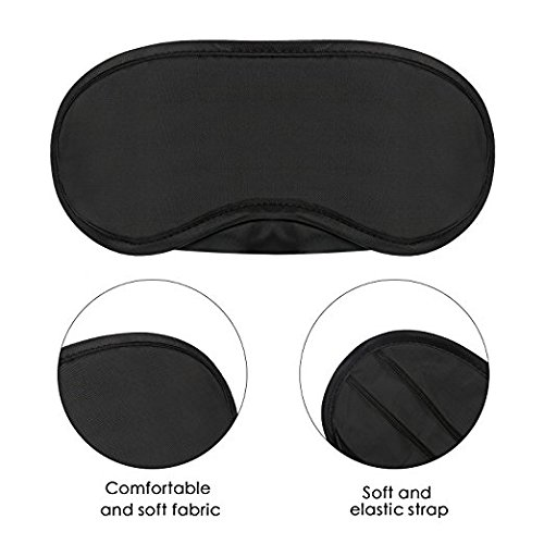 [ #1Recommended ] Sleep Mask, Eye Mask For Sleeping, Women Men & Kids, 100% Pure & Natural Fabric, For Boys & Girls, Blindfold, Feels Extremely Soft & Silky, Covers Majority of Face
