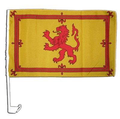 Flaggenfritze Autofahne Autoflagge Schottland Royal - 30 x 40 cm