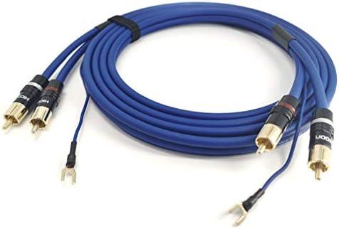 RCA NF de/trenza Verano Cable 2 x 0,35 mm²Sinus Control Tierra En ...