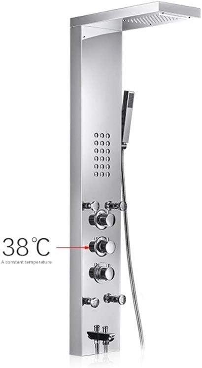 EODUDO-Home Improvement Ducha termostática Piezas de baño de Acero Inoxidable Mampara de Ducha (Bath & Shower Faucet Type : Shower Panels): Amazon.es: Hogar