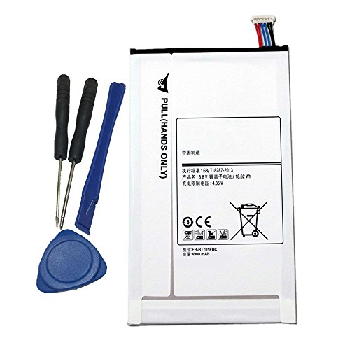 (Civhomy Replacement Battery with Tools for Samsung Galaxy Tab S 8.4 SM-T700,SM-T701,SM-T705,SM-T705C,SM-T705D,SM-T705M,SM-T705Y,SM-T707,SM-T707A,SM-T707D,SM-T707V,SC-03G,T700, T701,T705,T705C)
