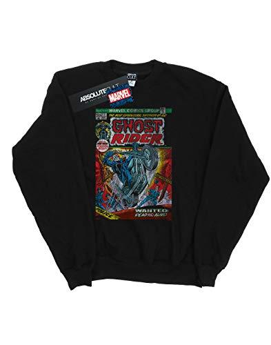 De Comic Universe Ghost Camisa Distressed Marvel Negro Entrenamiento Rider Mujer Cover qAwZ8Hfan
