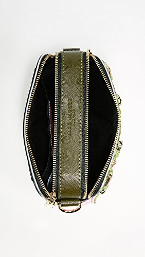 Brocade Floral Women's Marc Bag Green Camera Snapshot in Multi Jacobs OYnwqZg0