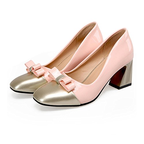 pink Chromatic Last Fashionable Shoes Color Small Square 37 xwOYnCqgpS