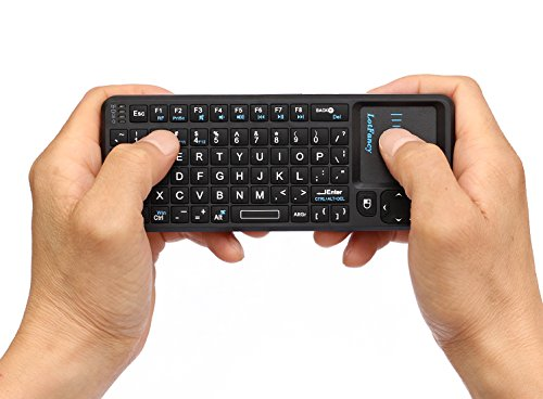 LotFancy Wireless Keyboard Touchpad Handheld