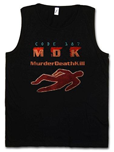 CODE 187 HERREN TANK TOP – Demolition MDK Murder Death Kill Man Stallone Mord Movie Film Größen S – 5XL