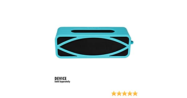 Full 6 Directions Protection from Shock Shake and Scratch Bonus Carabiner Customized Skin with Color and Shape Matching Silicone Cover Skin for Anker Soundcore Bluetooth Speaker by Alltravel