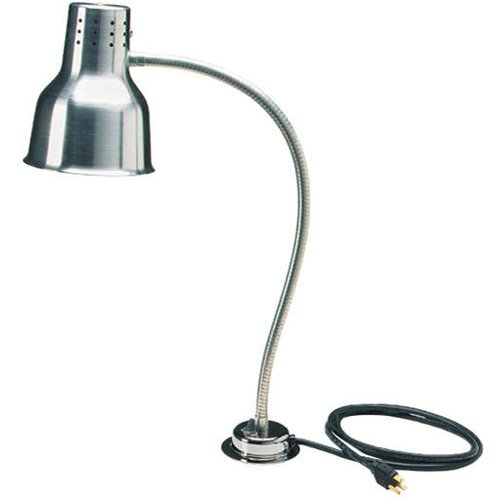 Carlisle HL8185GB21 FlexiGlow Single Arm Heat Lamp with Board & Pan, 24