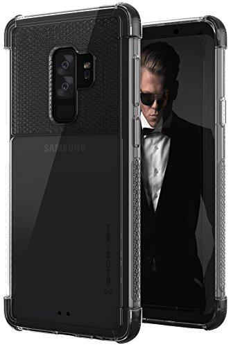 Ghostek COVERT Durable Bumper Case Gel Corners Compatible with Galaxy S9 Plus - Black