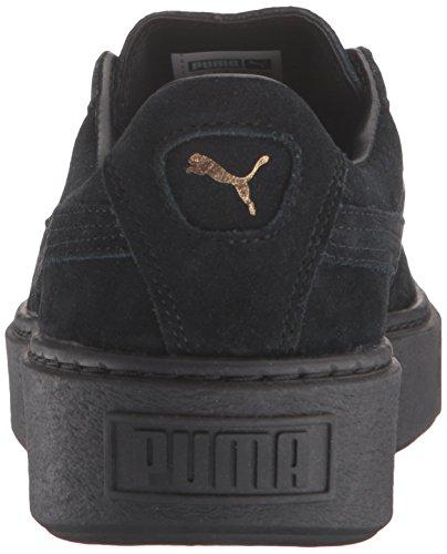 puma Gold Or puma Chaussures forme Suede Black Puma Black Plate Femme TzOqUU