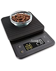Greater Goods Digital Coffee Scale - for The Pour Over Coffee Maker | Brew Artisanal Java on a Coffee Scale with Timer | Great for French Press and General Kitchen Use | Designed in St. Louis