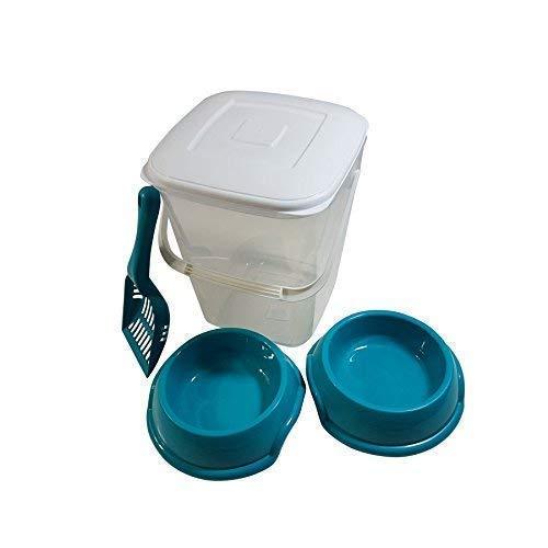 Mascota 10L. conservación alimentos plástico papelera Bote ...